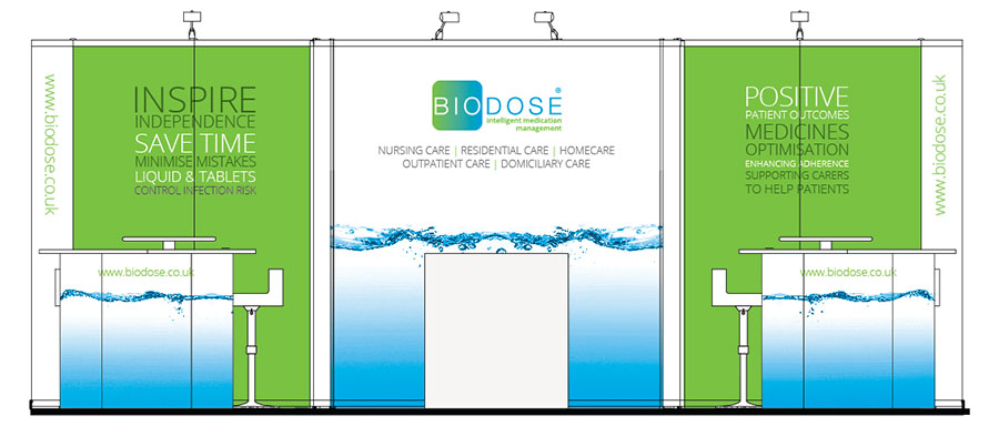Biodose Exhibition Stand